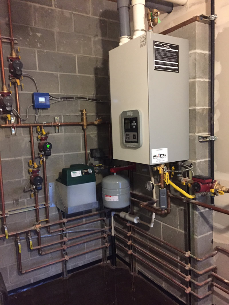 Boiler heating systems repair all star plumbing for The best heating system